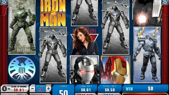 Slot Machine AAMS Iron Man 2