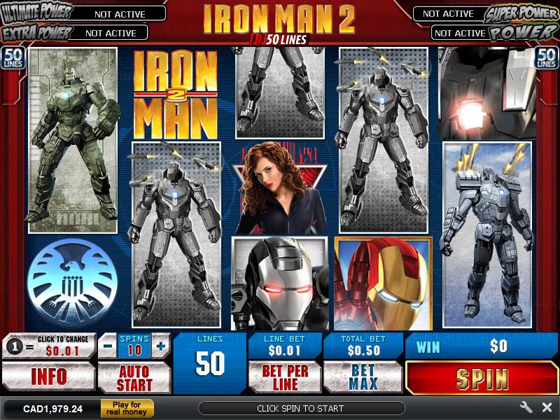 Slot Machine AAMS Iron Man 2