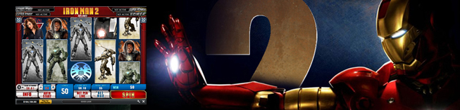 iron man 2 slot playtech