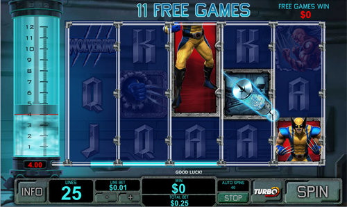 free game slot wolverine